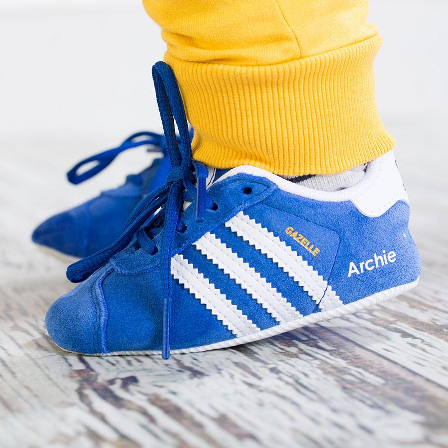 Personalised Baby Shoes - Adidas Gazelle