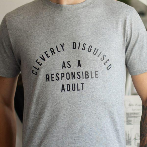 Mens Funny Slogan T-shirt